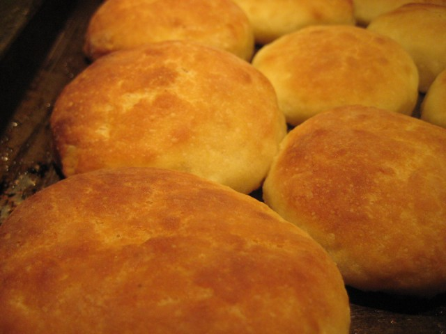 Sourdough Biscuits - Part of a Busy Weekend's Baking