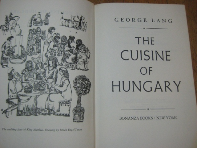 George Lang -The First of my Cookbook Heroes (Next Post)