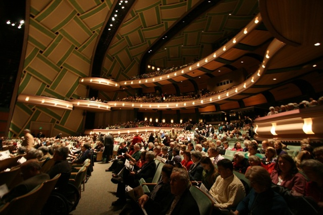 Interior - The Hult Center, Eugene (courtesy of eugene-or.gov)
